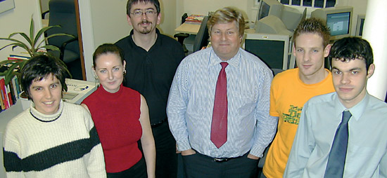 The Early Years – How our team looked back in 2001