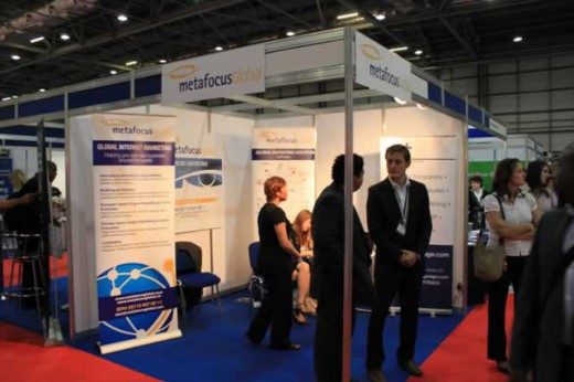 Clements Marketing (previously MetafocusGlobal) at the Business startup show, 2011.