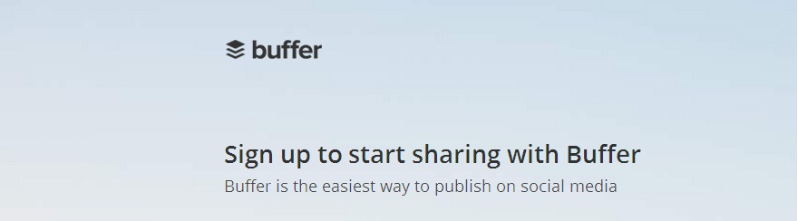 Start sharing with buffer