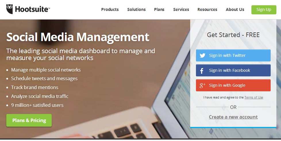 Hootsuite - Social Media Management Tool